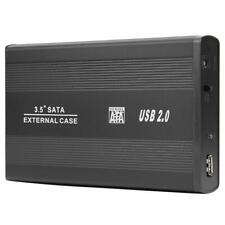 "2.5/3.5"" USB 3.0/2.0 SATA SSD Hard Drive External Enclosure HDD Mobile Disk Case"