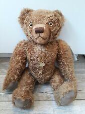 Edward Teddy Bear Museum Jointed Mohair Bear