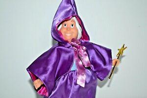 Disney Fairy Godmother Bambola Da Classico Cinderella Film, Regalo Avvolto