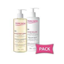 Pack TOPICREM AD  Balm 500ml + Ultra Rich Cleasing Gel 500 ml.