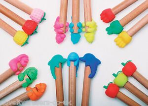 Novelty Japanese IWAKO Animal Eraser Rubbers - IWAKO Pencil Topper Erasers