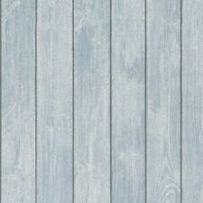 P+S Bread & Butter 13556-50 Vlies Tapete Holz Optik Struktur weiß blau