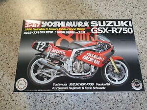 Fujimi model Suzuki GSXR750 Yoshimura 1986 TTF1 specification 1/12 Bike Series N