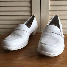 "Nurse Mates ""Josie"" White Leather Occupational NUrsing Shoes Women's Size 11M"