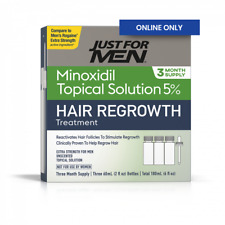 Just For MEN Hair Loss Treatment 5% Minoxidil 3 Months supply
