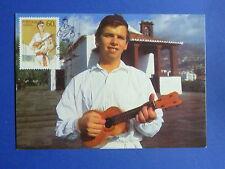 LOT 9367 CARTE MAXIMUM MUSIQUE MADERE MADEIRA PORTUGAL ANNEE 1985