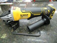 "NEW! DEWALT XR MOD#DCG413 20V MAX Brushless Small Angle Cordless Grinder - 4.5"""