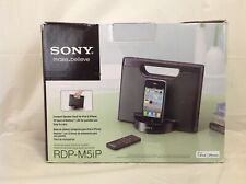 Sony RDP-M5iP Compact Speaker Dock for iPod & iPhone 30 Pin Port - New