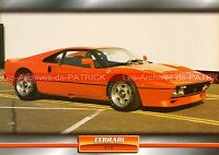 FERRARI GTO 1984 : Fiche Auto Collection