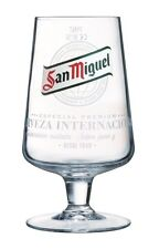 Official San Miguel Chalice Pint Beer Glass 20oz - Box of 24