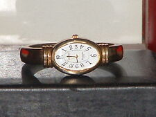 Pre-Owned Women's Gruen GP8120 Cuff Bracelet Analog Quartz Watch