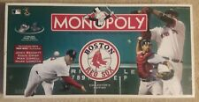 Boston Red Sox Collector's Edition Baseball Mlb Monopoly Board Game 100% Complet