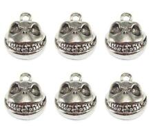 6 x Nightmare Before Christmas Jack Skellington Charms Gothic Jewellery 16mm
