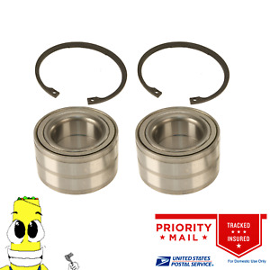 Premium Front Wheel Bearing Kit for Saturn SC SL SW Series 1992-2002 Set of 2
