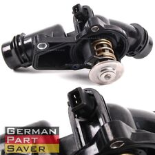 Black Thermostat Housing Assembly w/ Sensor + Gasket For BMW E39 E46 11531437040