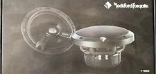 "ROCKFORD FOSGATE T1650 POWER 6.5"" 2-WAY ALUMINUM TWEETERS COAXIAL SPEAKERS NEW"