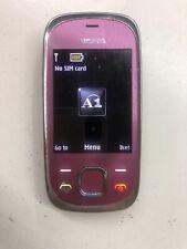 Nokia Slide 7230-Rosa Shocking Sbloccato Telefono Cellulare