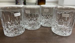 Royal Doulton Crystal Seasons x4 Whisky Tumblers
