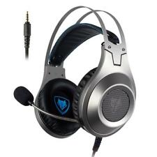 NUBWO N2 Stereo Wired Noise Canceling Gaming Headset - Silver