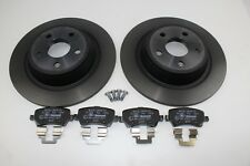 Original Brake Discs + Brake Pads Rear FORD S-MAX - Galaxy 2111254 +1916606