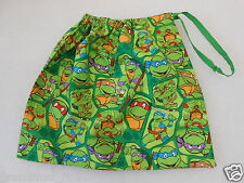 Library Bag Teenage Mutant Ninja Turtles Drawstring Tote Great Gift Idea!!