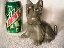 Antique Hubley Fdr Scottish Terrier Cast Iron Dog Art Statue Doorstop Free Ship