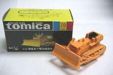 VINTAGE TOMICA 70 KOMATSU BULLDOZER D65A JAPAN RARE