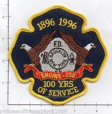 New York City NY Fire Dept Engine 250 Patch v8