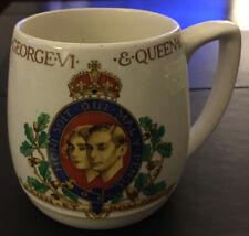 Christmas Ideas Antique George VI Elizabeth  Coronation Mug