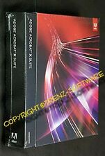 neu: Adobe Acrobat X Suite + Photoshop CS5 englisch Vollversion Box DVD - MwSt.