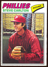 1977 OPC O PEE CHEE BASEBALL 93 STEVE CARLTON HOF NM PHILLIES