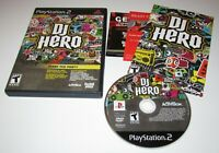 DJ Hero (Game Only) for Playstation 2 Complete Fast Shipping!