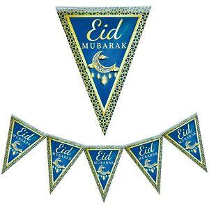Fahnenkette, Eid Mubarak, Dekoration, Bayram Mubarak, Bayram, Ramadan Kareem