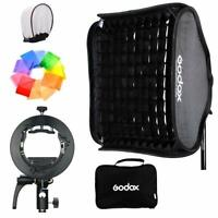 Godox Softbox+ Honeycomb Grid Kit W/Godox S2 Bracket for Godox V1 AD200 AD400Pro
