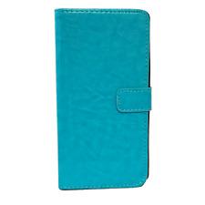 ^ BOOK MARBLED FLEXI Tasche Hülle Schutz Cover Case Samsung Galaxy J5 2016 BLAU