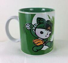 New!! 2008 BEIJING OLYMPIC Friendlies Green Softball Cup Mug Licensed Product