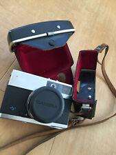 AGFA Kleinbildkamera alt mit Ledertasche