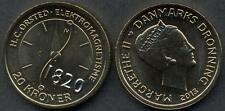 DENMARK 20 Kroner 2013 H.C. Orsted UNC