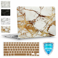 For MacBook Pro 15 A1286 Slim Marble Plastic Hard Shell Case Cover Keyboard Skin