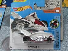 Hot Wheels 2017 #191/365 TURBO ROOSTER blanc Rue Beasts Nouveau Fonte