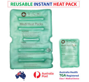 Instant Heat Packs, Reusable Instant Hot Packs, Back Pain, Snap packs, heat pack