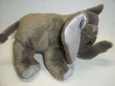 Gray Elephant Plush Animal Stuffed Toy