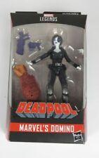 "Marvel Legends Deadpool 6"" Domino Action Figure - Build A Figure Sasquatch"