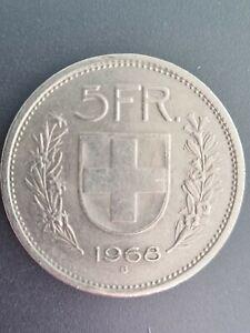 5 Schweizer Franken 1968 B