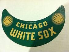 Chicago White Sox Green Color Cardboard Promo Visor 1937 NPC NY Unused