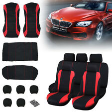 KIA CEED ALL YEARS Red Carnaby Luxury Full Set Car Seat Covers