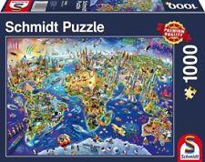 Puzzles et casse-tête Schmidt en carton cartes