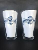 Lot Of 2: SweetWater Brewing Co. Atlanta, Pint Beer Glasses/ Brawl For A Cause