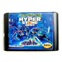 Turtles The Hyperstone Heist 16 Bit Game Card For Sega Genesis Mega Drive System