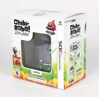Chibi-Robo Zip Lash Bundle with Chibi-Robo Amiibo Nintento 3DS New In Box